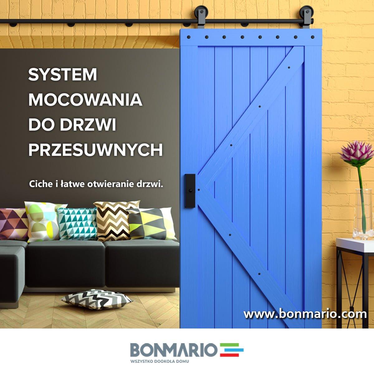 Wybierz system drzwi przesuwnych w sklepie internetowym bonmario.com!
